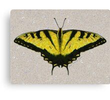 BUTTERFLY, A FLYING FLOWER Canvas Print