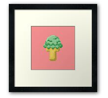 8-bit Ice Cream Framed Print