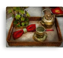 Kitchen - Formal tea ceremony Canvas Print