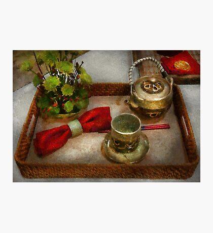 Kitchen - Formal tea ceremony Photographic Print