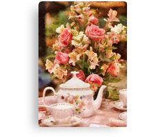 Kitchen - More tea Milady Canvas Print
