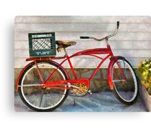 Bike - Delivery Bike Canvas Print