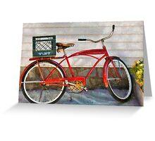 Bike - Delivery Bike Greeting Card