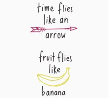Fruit Flies Like Banana by ellzibelles