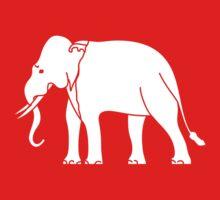 Siamese Elephant Kids Tee
