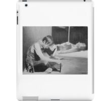 A moment with Daryl Dixon iPad Case/Skin