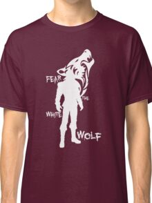 Witcher - Fear The White Wolf Classic T-Shirt