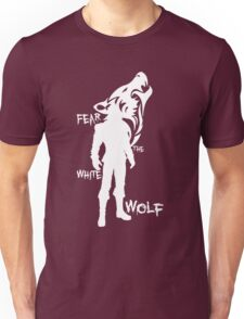 Witcher - Fear The White Wolf Unisex T-Shirt