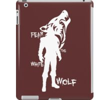 Witcher - Fear The White Wolf iPad Case/Skin
