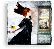 Cold winds are blowing... Canvas Print