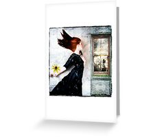 Cold winds are blowing... Greeting Card