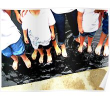 dozen of toes Poster