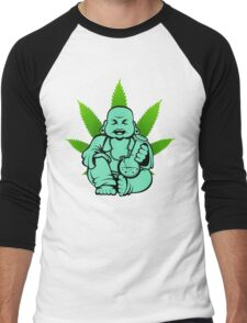 Buddha bong 2 Men's Baseball ¾ T-Shirt