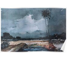 moods of rain Poster