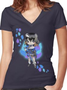 Curse of the Rose  Women's Fitted V-Neck T-Shirt