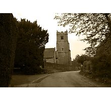 Church Lane, Bearsted Photographic Print