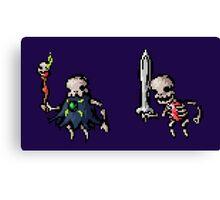 Spooky Skeletons Canvas Print