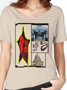 comic of tron Women's Relaxed Fit T-Shirt