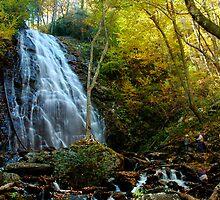 Crabtree Falls, NC by Karen Peron