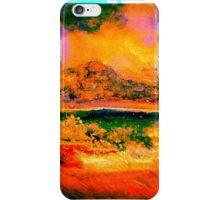 sunset & seascape iPhone Case/Skin