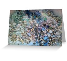 Mother of Pearl and Pink Greeting Card