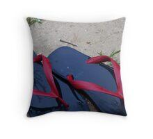 Outdoors Throw Pillow