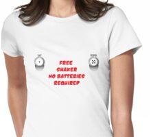 Salt n Pepper Womens Fitted T-Shirt