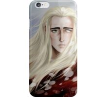 Thranduil - so comes snow after fire iPhone Case/Skin