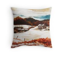 12 O'clock Knob Scene 1 Throw Pillow