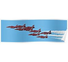 The 2015 Red Arrows  Poster