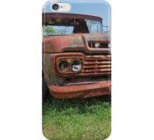 The Old Red Truck iPhone Case/Skin