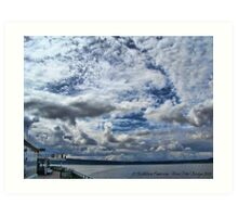 Ferry Ride Art Print
