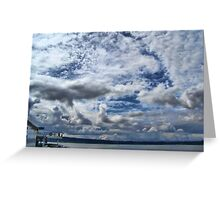 Ferry Ride Greeting Card