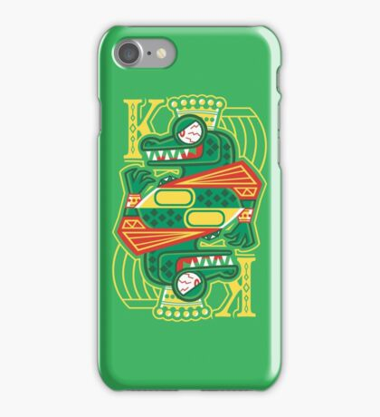 King of Krem iPhone Case/Skin