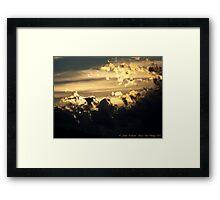 Celestial Dance Framed Print