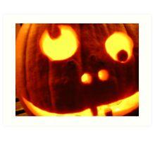... happy halloween ... Art Print