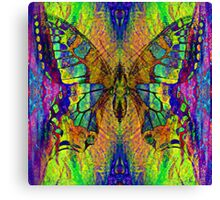 Butterflies in Vibrant Colors Canvas Print