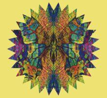 Butterflies in Vibrant Colors Kids Tee