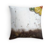 Mold and Memories Throw Pillow