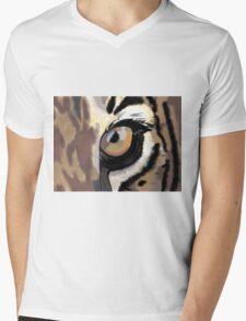 Eye of the Tiger Mens V-Neck T-Shirt