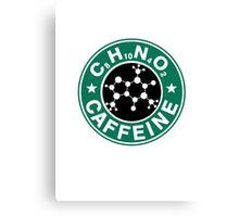 C8H10N4O2-Bucks Logo Canvas Print