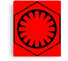 Seal Of the First Order Canvas Print