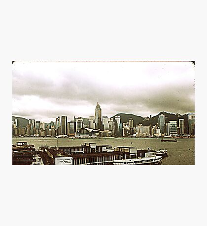 Wan Chai Skyline. Photographic Print