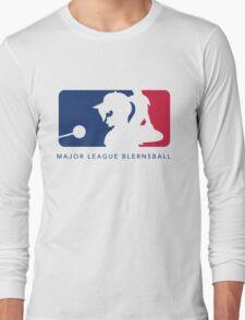 Major League Blernsball (White) Long Sleeve T-Shirt