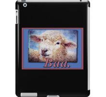 """Baa."" (with background) iPad Case/Skin"