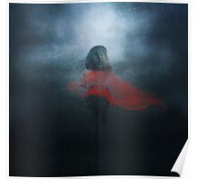 Lady in red Poster