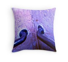 Two Pipes and Wall Throw Pillow