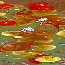 Water Lilies #1a by Mark Ross