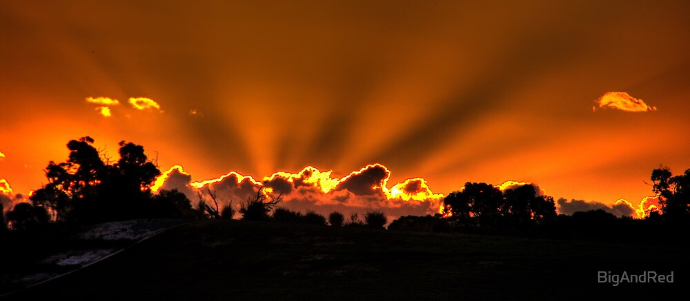 Sunbeams, WA by BigAndRed