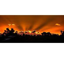 Sunbeams, WA Photographic Print